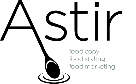 Astir Food Styling, Food Marketing, Food Copy