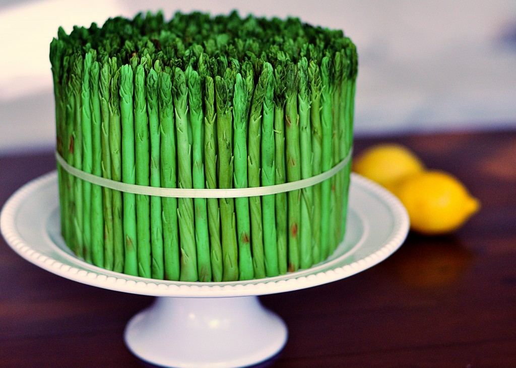 60gritbeard :      When an Asparagus Cake Just Makes Good Sense