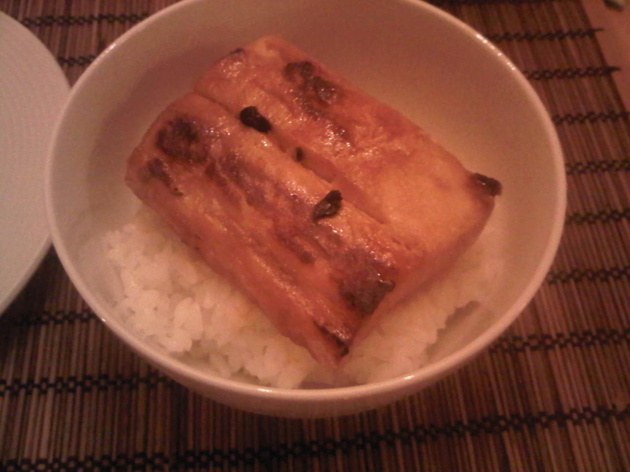Miso Glazed Mahi Mahi: soak mahi mahi in mirin, brown sugar, and miso for 2-3 hours then sear or grill in pan.