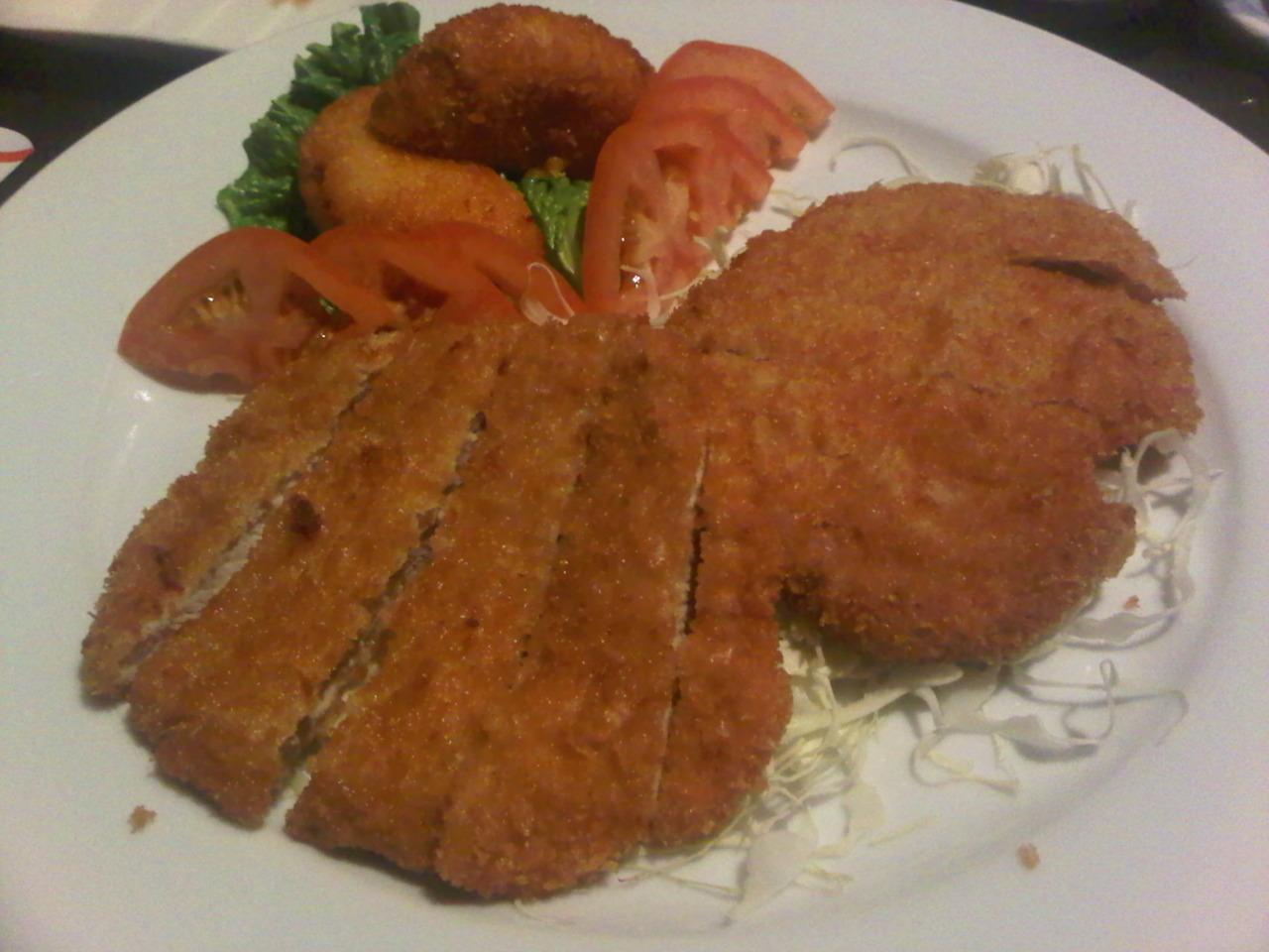 Pork Katsu @  Fugakyu  in Coolidge Corner (Jon's homemade katsudon was so much better.)