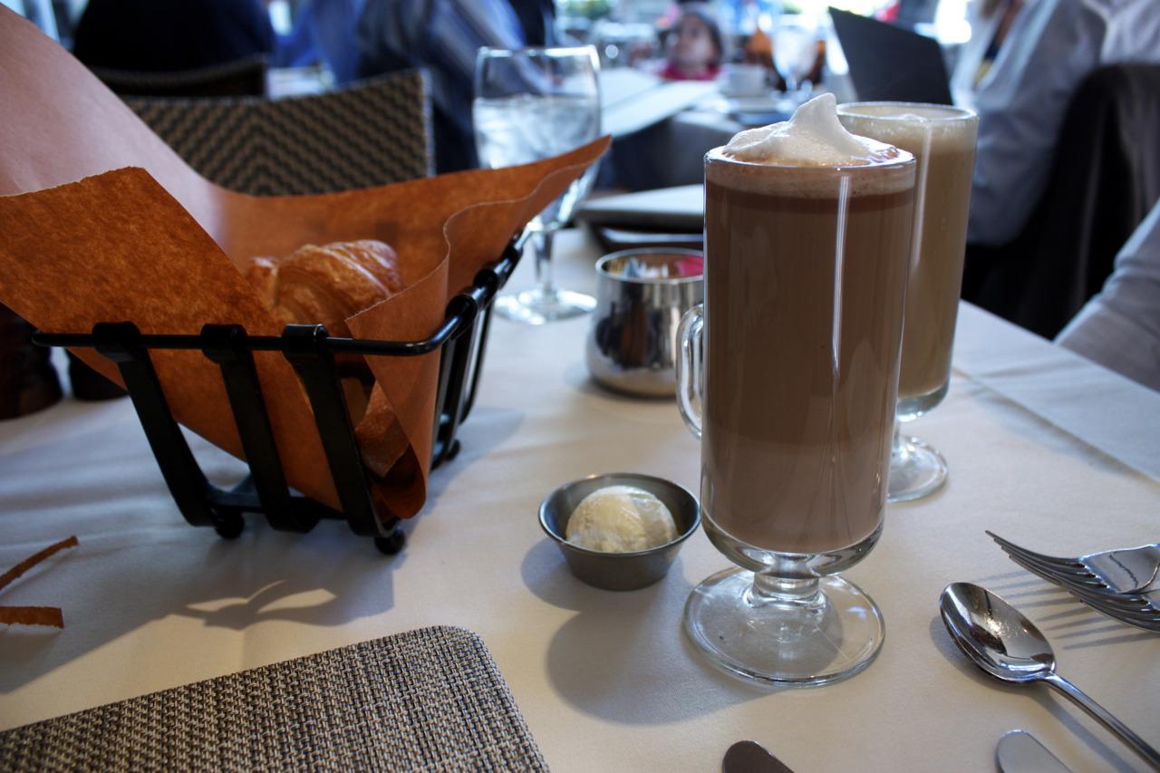 Cafe Latte @  Harvest  in Harvard Square, Cambridge