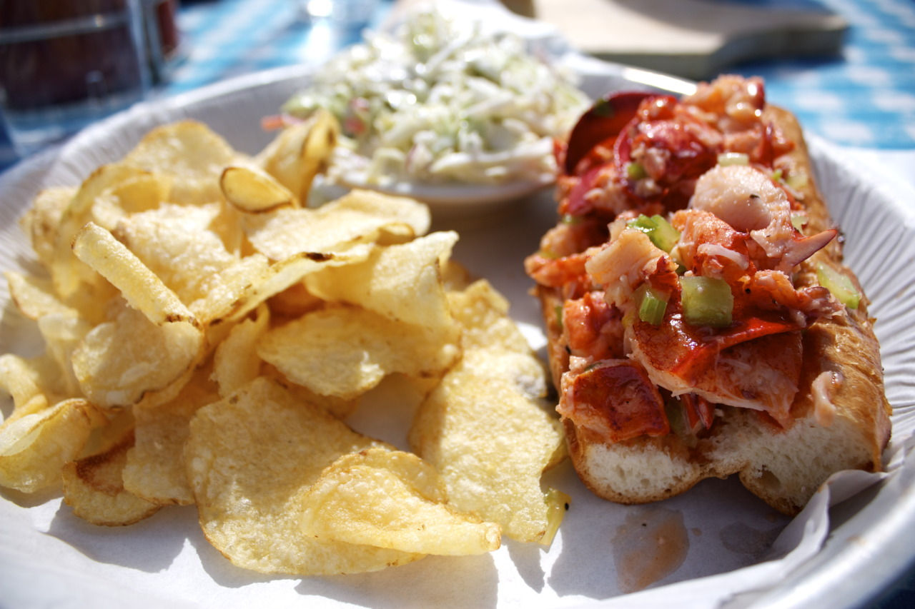 "Lobster Roll @  Sam's Chowder House  in Half Moon Bay    *The Lobster Roll has been named a top five pick of NBC's  Today Show  ""Best Sandwiches in America."" Extremely tasty, and highly recommended!"