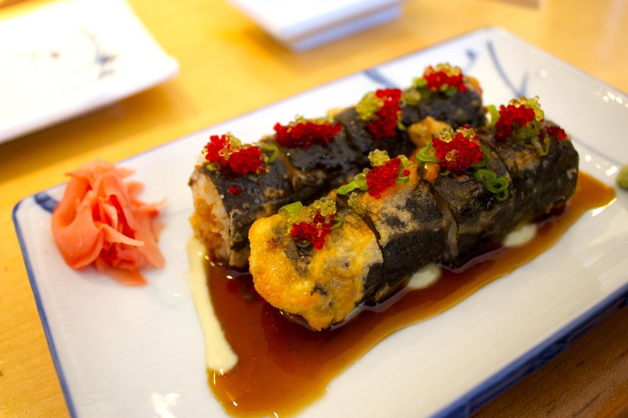 Spicy Tuna Roll @  Kanpai  in Arlington, VA - Rosslyn, Washington D.C.