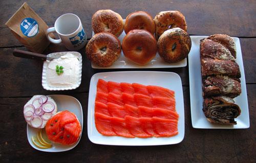 What a great breakfast arrangement!