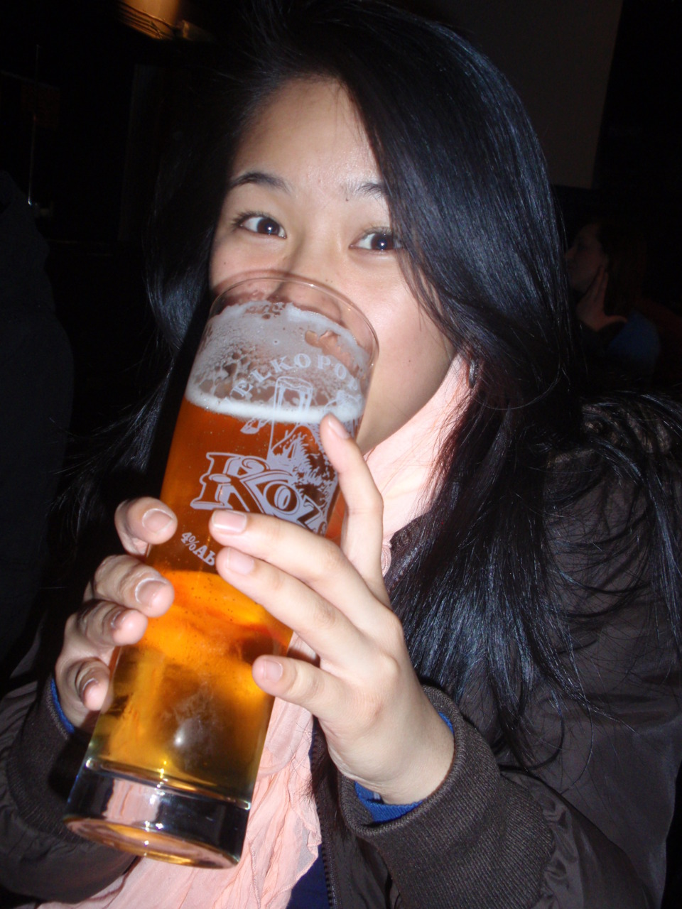 Had my first pint of beer in London @ The Builders Arms in Kensington!