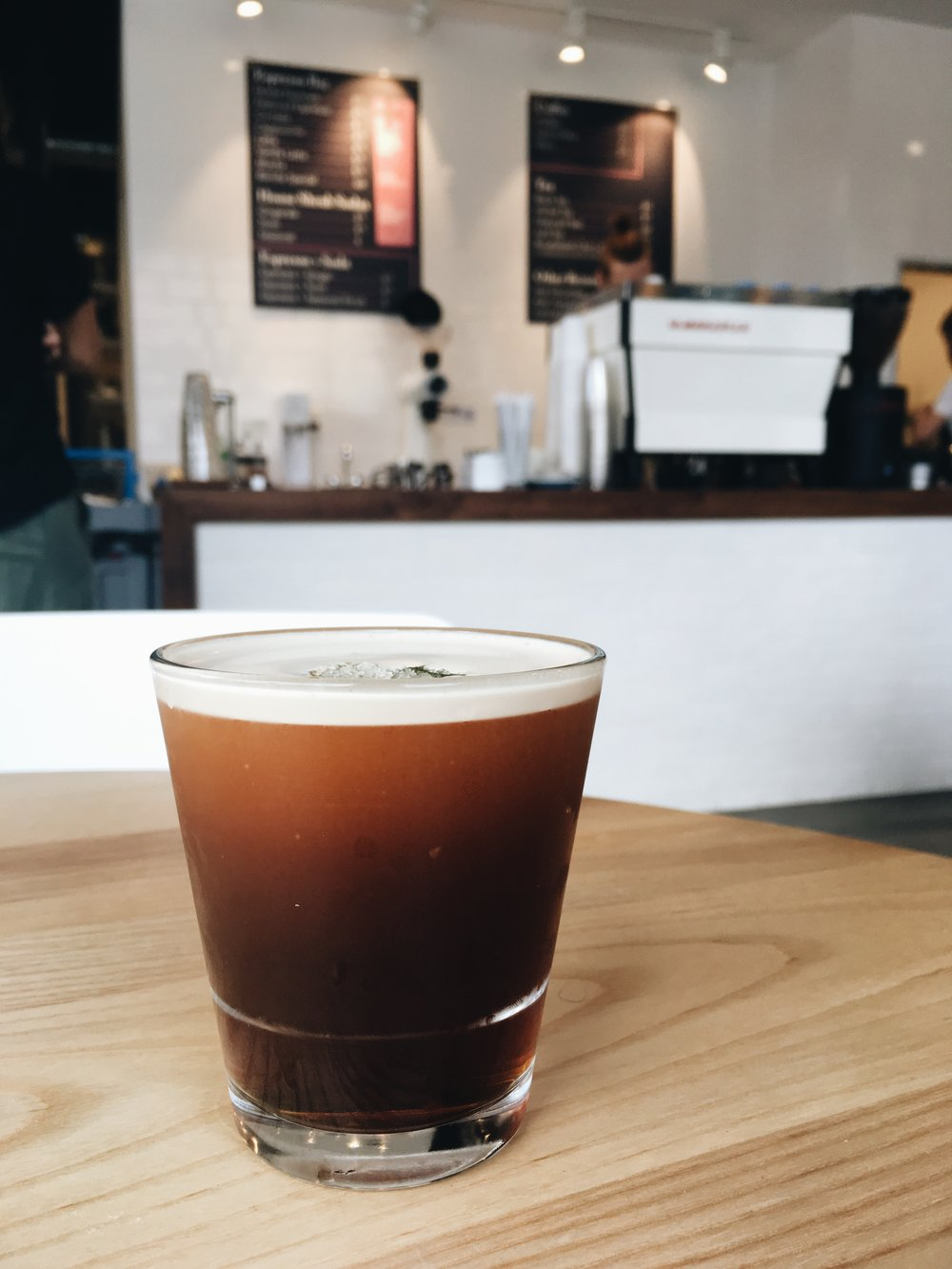 Barista Special: Nitro Smash Cocktail