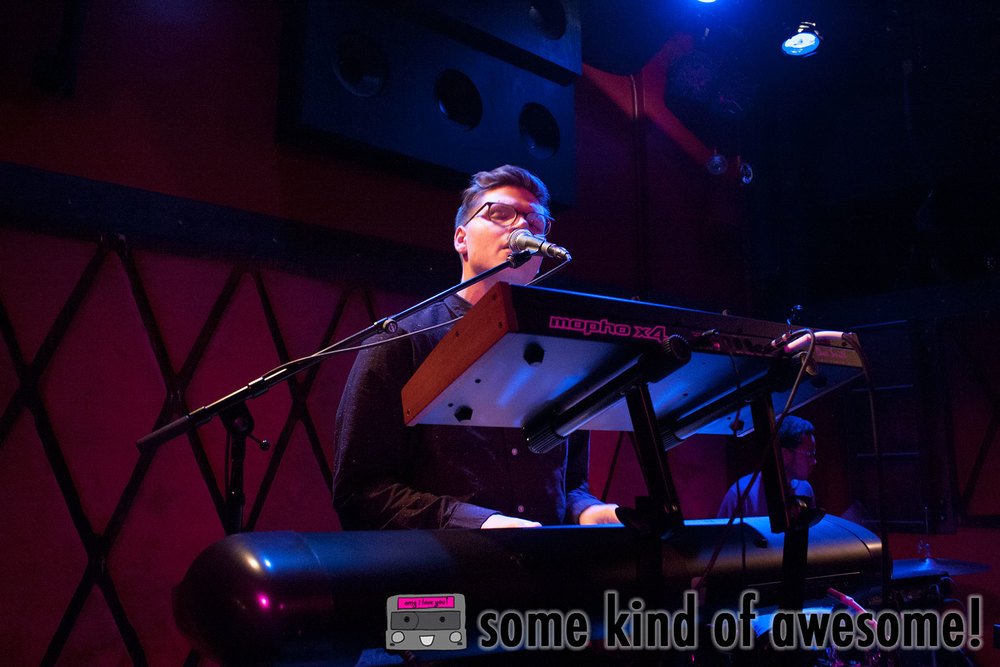 Kevin Garrett making a packed Rockwood Music Hall Stage 2 weak in the knees