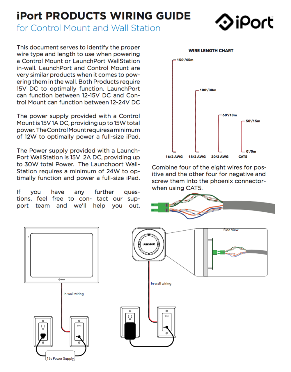 Iport Wiring Guide A Dc Jack Plug Also With