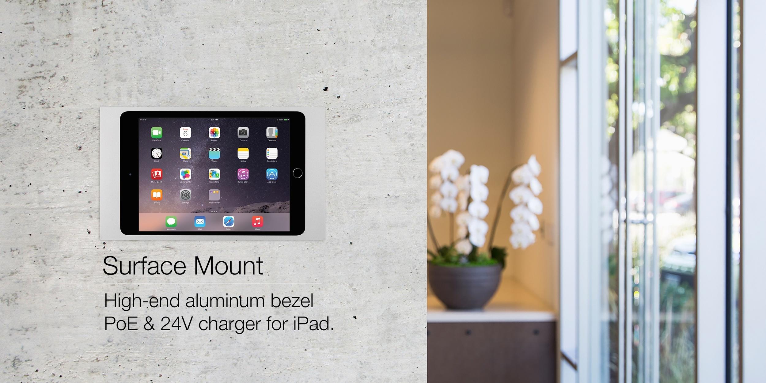 Ipad bathroom wall mount - Surface_mount_hero 2 Jpg