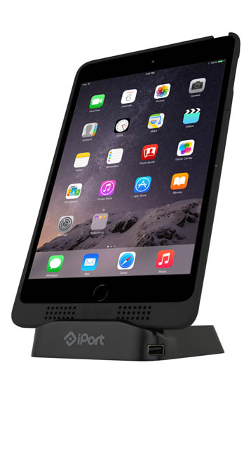 Convenient tabletop wireless charging for iPad - Charge three devices in one; two USB ports at the base of Charge Case can power additional mobile devices while eliminating clutter and unnecessary wires, making it the perfect addition to any bed side table, desk or conference room. Easily deployed in any business application, Charge Case & Stand 2 is truly plug and play.