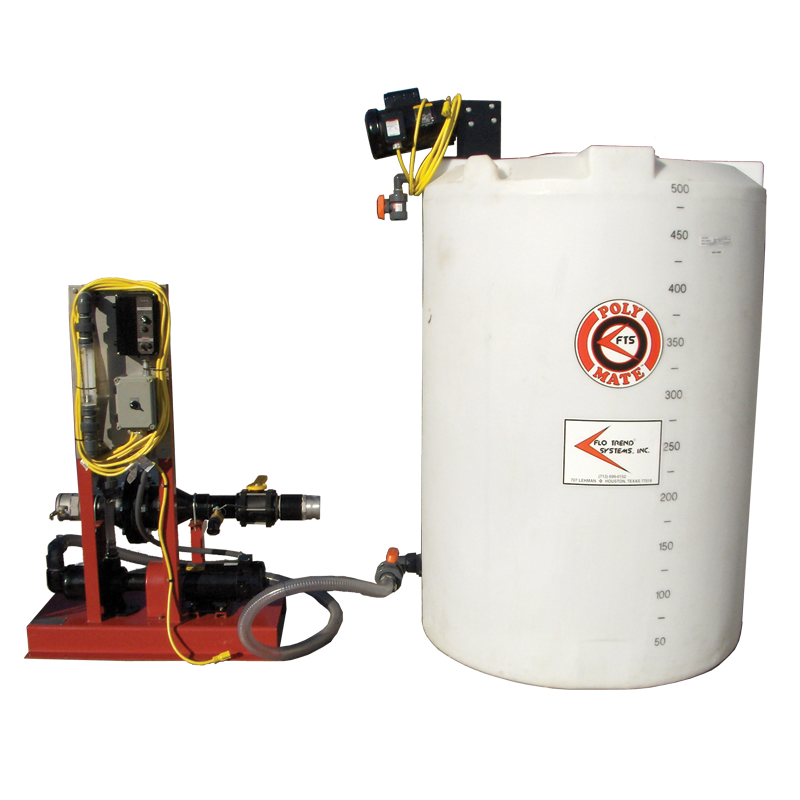 poly-mate-500 GPM-polymer-mixing-injection-system-pump-sludge-dewatering
