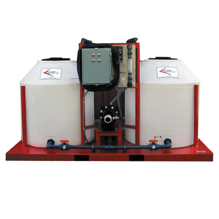 poly-mate-2000 GPM-polymer-mixing-injection-system-sludge-dewatering