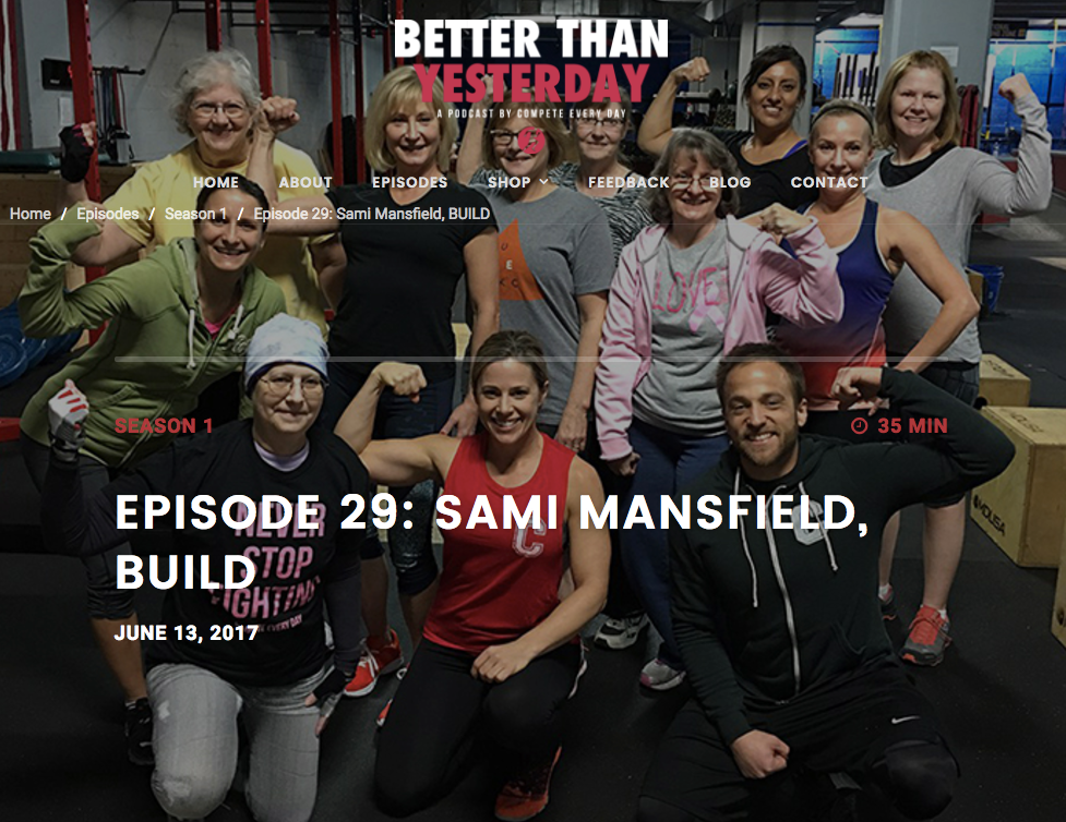 Better then yesterday Podcast - Combining cancer and crossfit