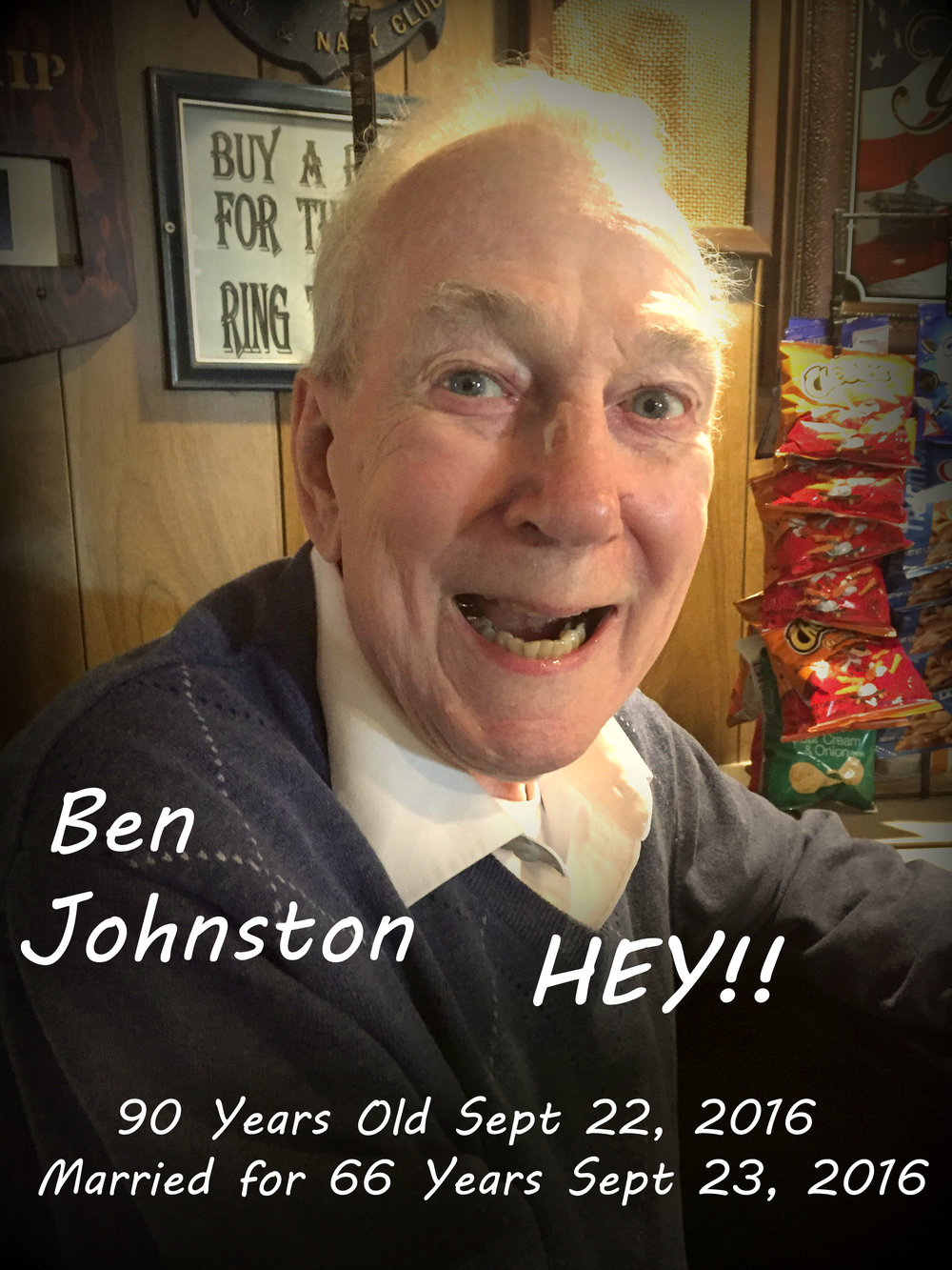 Past President Ben Johnson