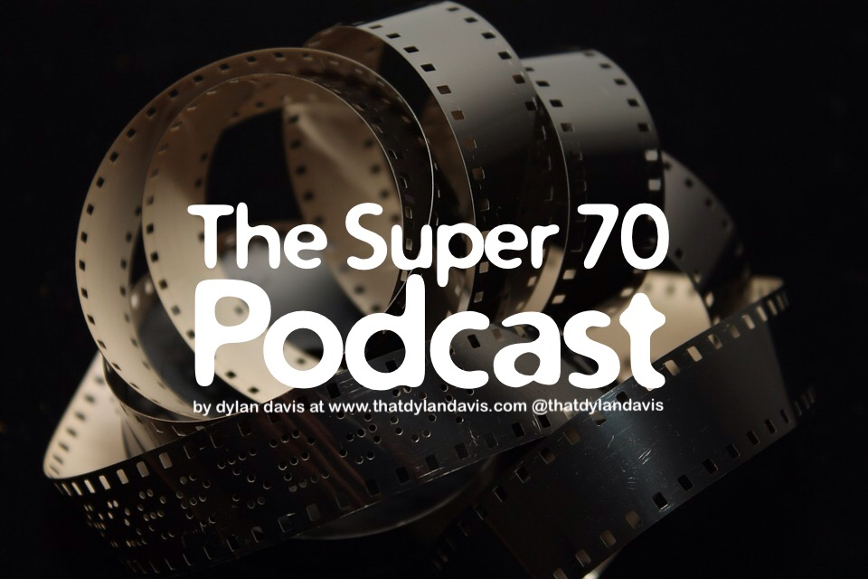 EARTH TIME, 24/7/365 + 1(4) -m 1500 MOUNTAIN TIME ZONE 13 MAY 2016. It with some pride and trepidation that I announce the arrival of my new podcast, the Super 70 Podcast. Super 70 is an attempt to share with you the many films that i find intriguing and interesting. Super 70 is designed to play along with the film so you can listen to the discussion while viewing the movie. However, you can listen to the Super 70 Podcast anywhere. The goal is not to tear down or rehabilitate. The goal is to understand more of how we view the world. Press Play.