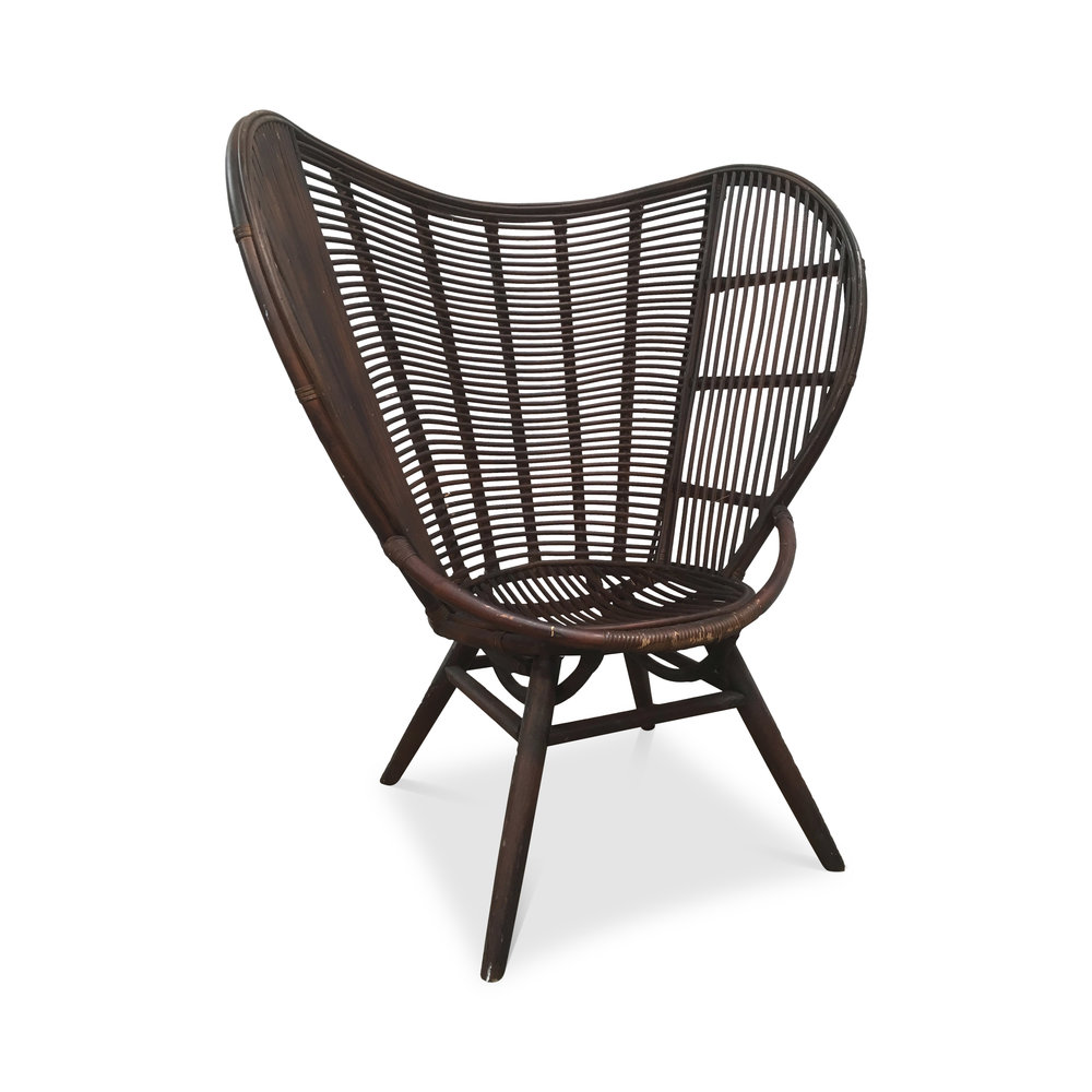 Rattan Lounge Chair -