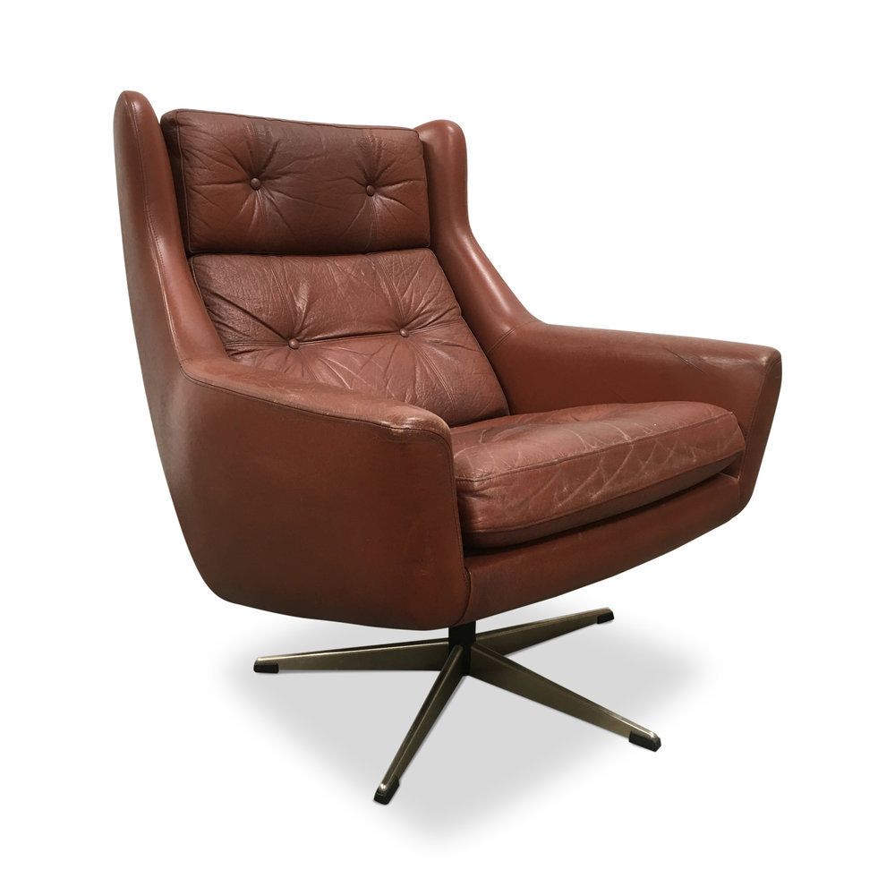 Marvelous Midcentury Danish Swivel Chair Dekor Caraccident5 Cool Chair Designs And Ideas Caraccident5Info