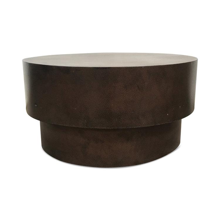"Vintage Metal Coffee Table 36""Dia. x 18.5""H"
