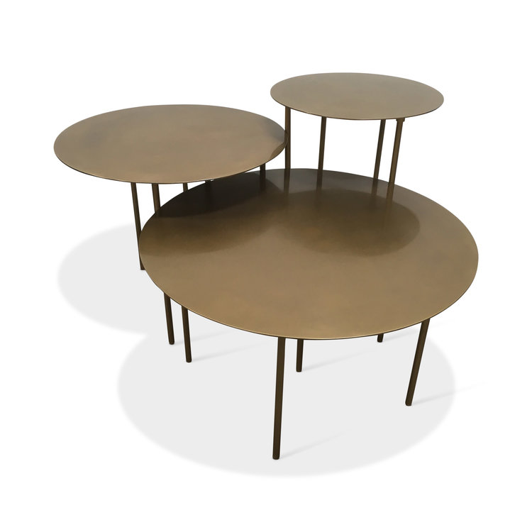Brass Side Tables Multiple Sizes