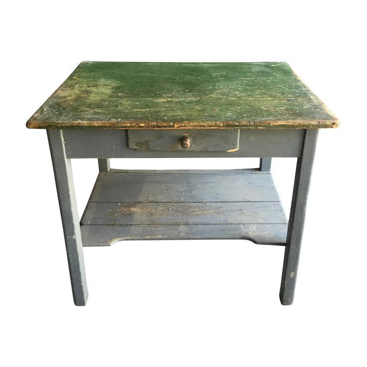"Antique European Writing Desk 38.5""W x 27.5""D x 32""H"