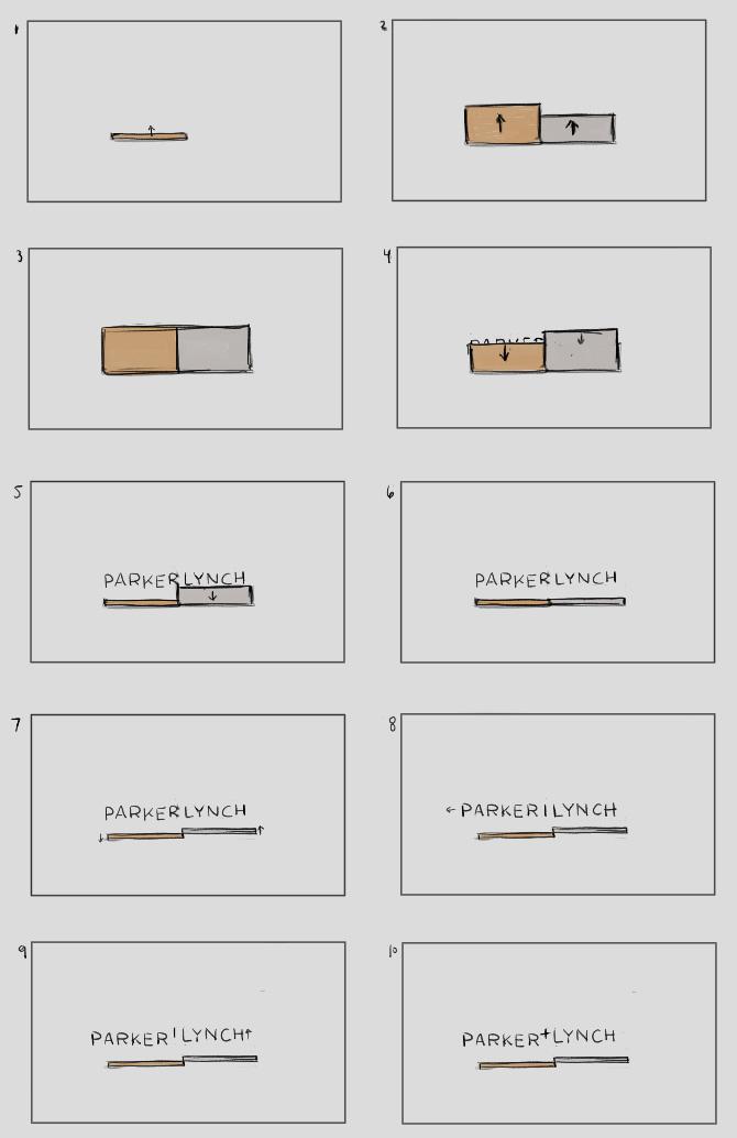Parker + Lynch Logo Reveal Thumbnails