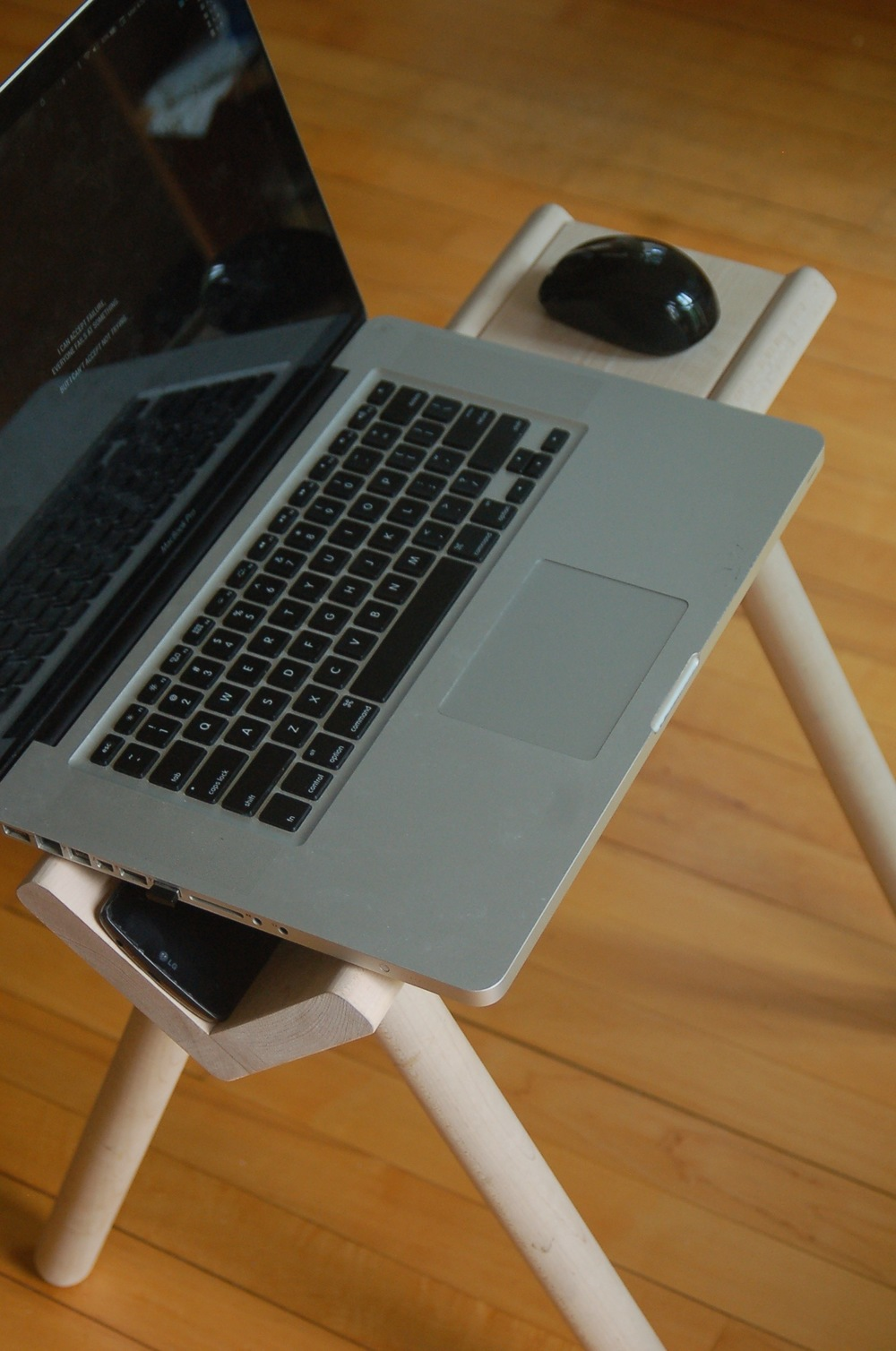 Use it as a laptop workstation.