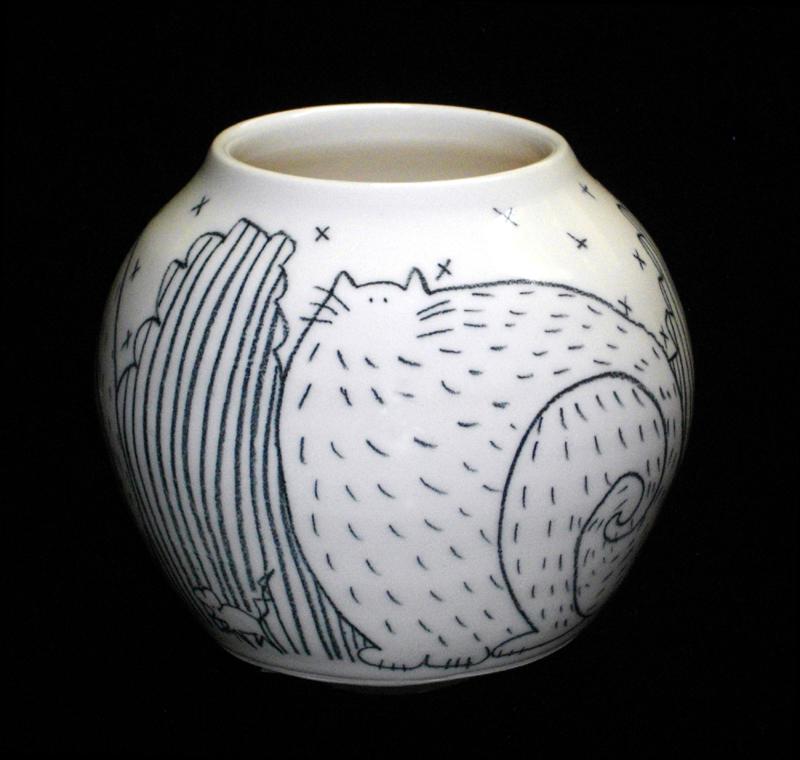 Fat Cat in Landscape Vase.jpg