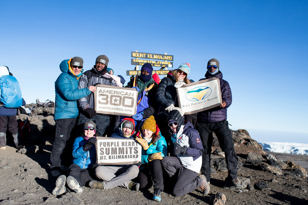 Purple Heart Summits - Kilimanjaro 2018