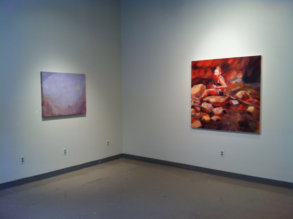 Swimming Hole. Solo show, 2014. Medici Gallery, UNL, Lincoln, NE