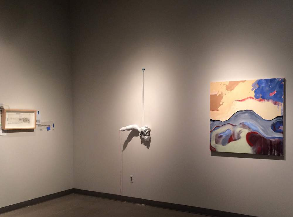 HUMAN/ GHOST/ MECHANICAL. Group show, 2015. Medici Gallery, UNL, Lincoln, NE.