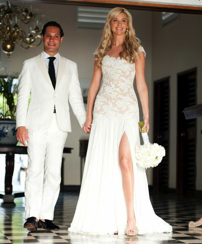 Stephanie madoff wedding dress