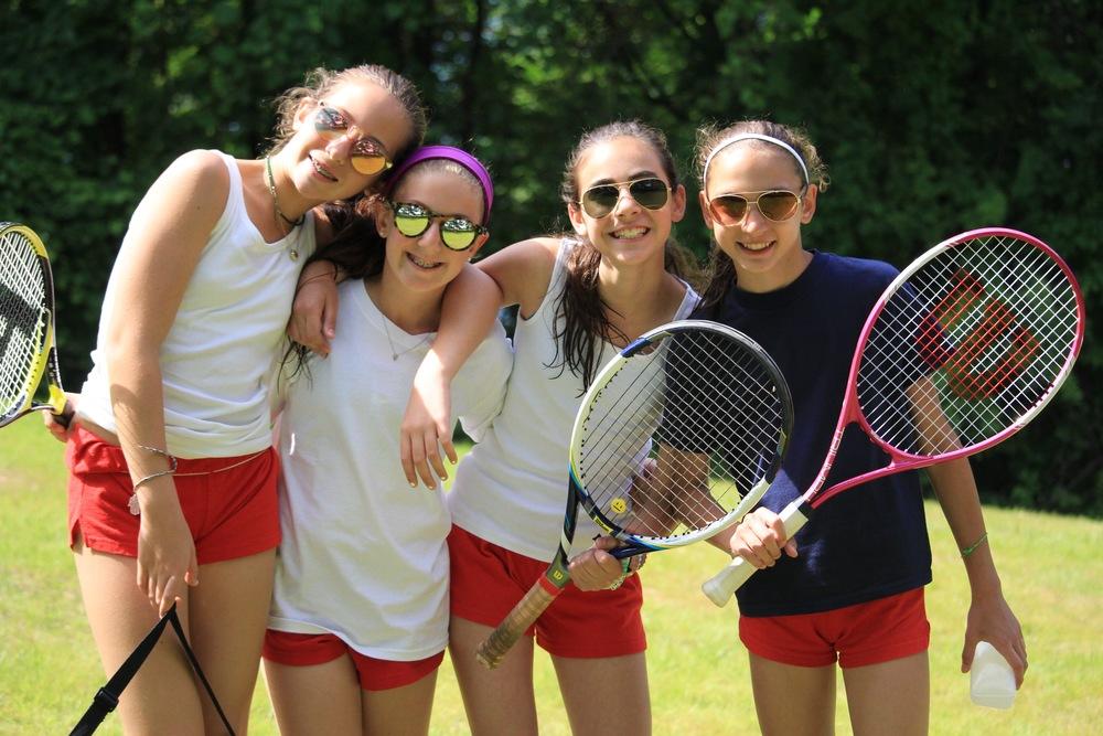 Debs at tennis