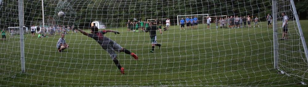 Isaac Malkin's penalty kick