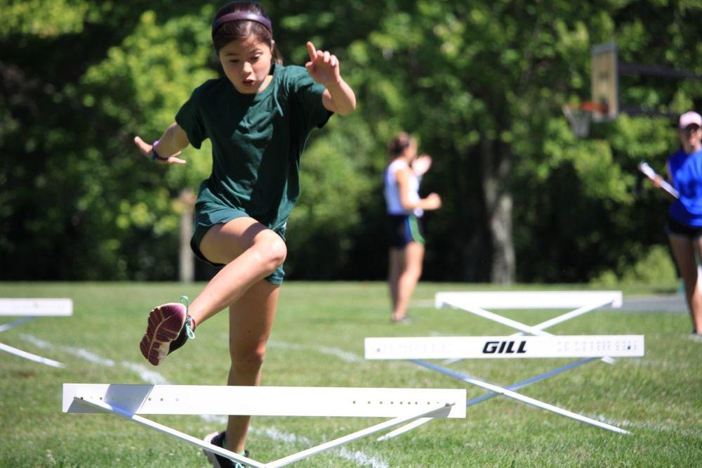 Carson Lava at hurdles!