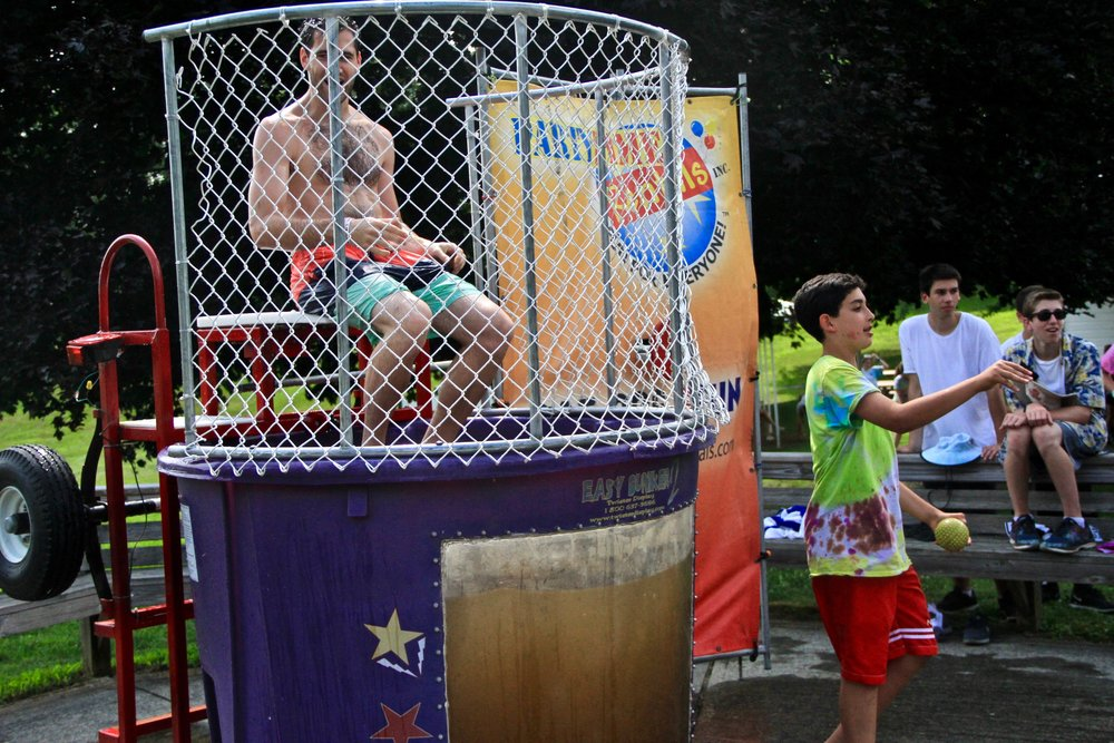 "Senior Boys' Dunk Tank (""Dank Tank"")"