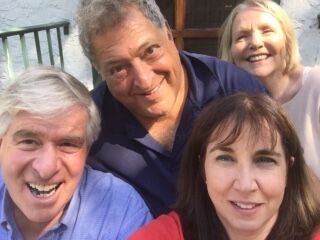 Annelie, Joanne, Bob, and Steve