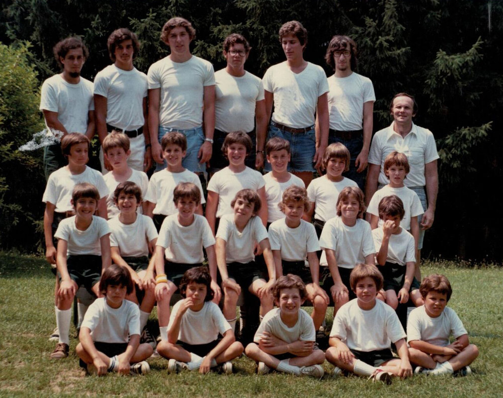 1973—with division leader  Jon Dreazen  (top row, middle)