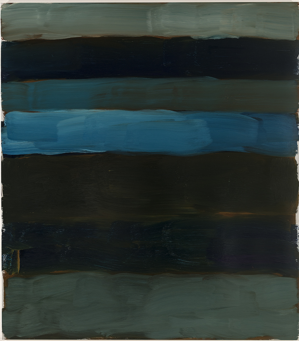 Sean Scully, Landline Inwards, 2015, oil on aluminiuM