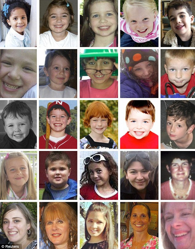 Credit: Reuters / Image of: Victims of Sandy Hook Elementary massacre in Newtown, CT
