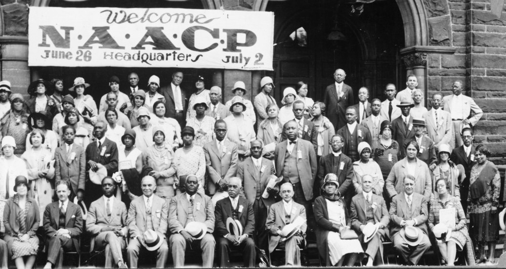 Photo Credit: http://scalar.usc.edu/ Pictured: NAACP 1929 Annual Conference