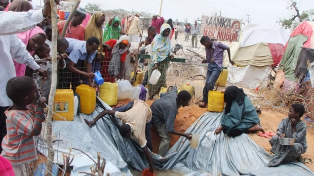 Somallia refugee camp/AP/CTV News