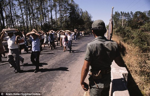 El Salvador's civil war (1981).