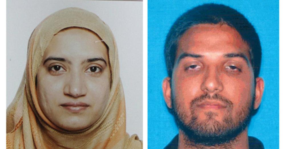 Tashfeen Malik and Syed Rizwan Farook Credit: CBS News