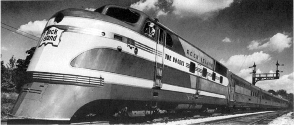 The Rock Island Rocket passenger train was well-remembered and loved by many throughout the midwest who travelled into Chicago.