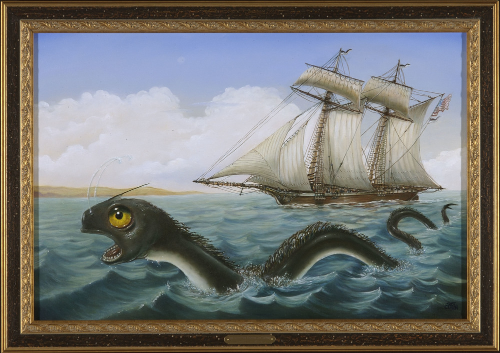 The Great New England Sea Serpent
