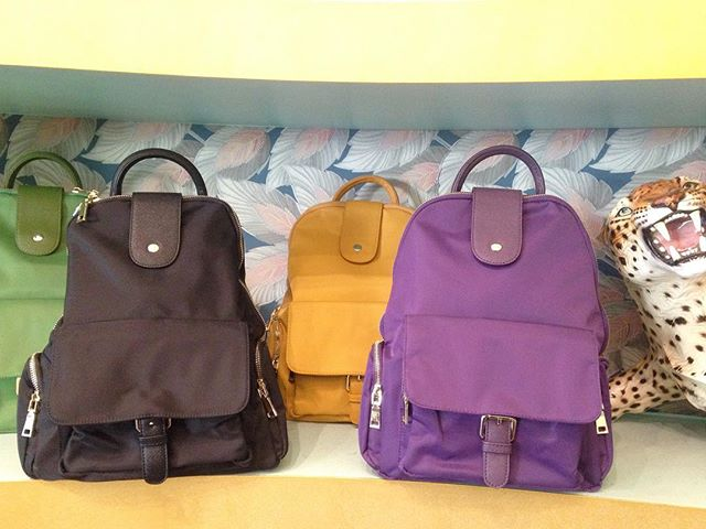 Waterproof backpacks - available in 4 juicy colours 🍇🍋🍏😎