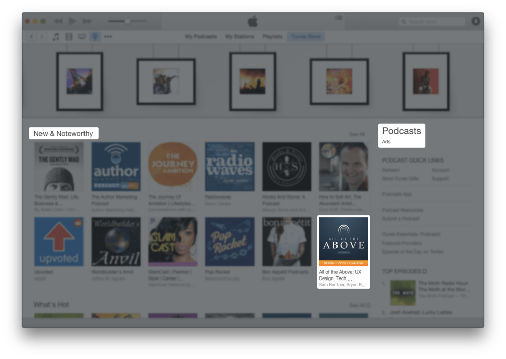 itunes aota new and noteworthy podcast arts.png