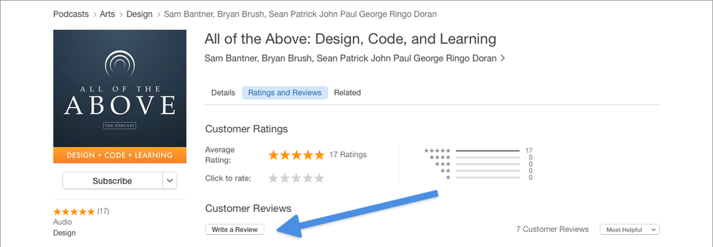 Review All of the Above in the iTunes Store