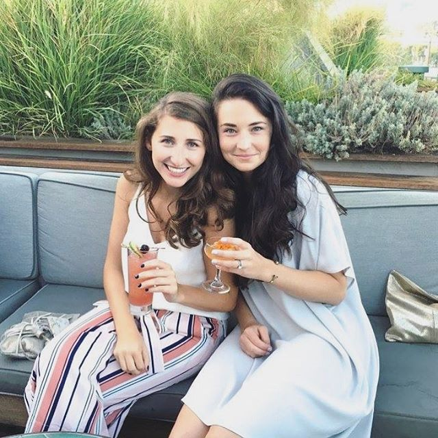 Headline reads: Darling Girls are Finally Reunited in Los Angeles This Week, Beware of Reckless Cocktails and Styling ☀️👯🍹
