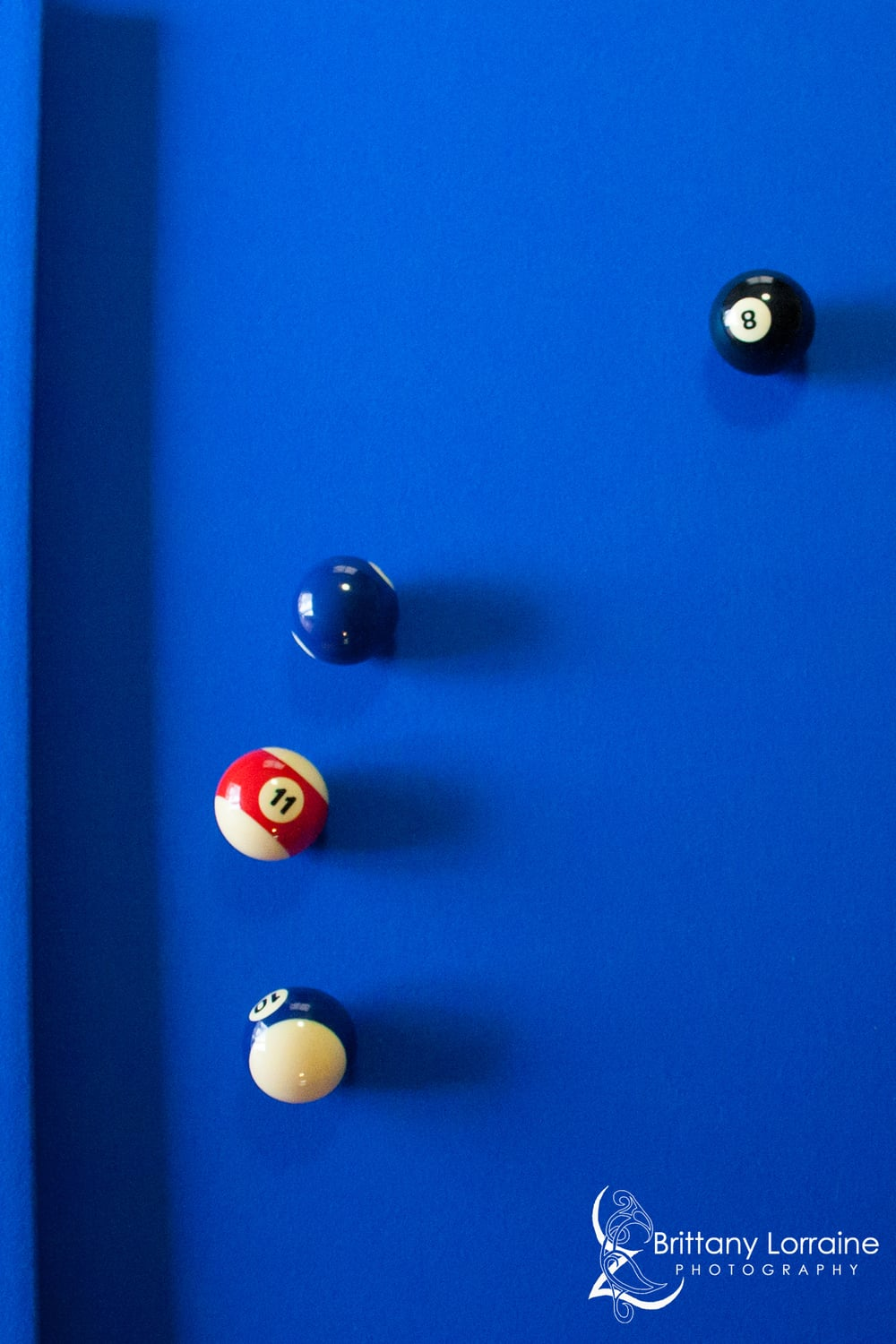 Pool Table image taken by Brittany Lorraine Photography in Estacada, OR